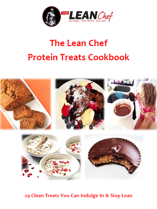 Protein Treats Cookbook Cover